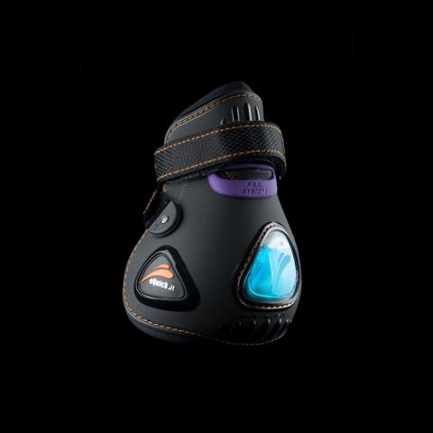 Ochraniacze eQuick eUp FluidGel tył czarne