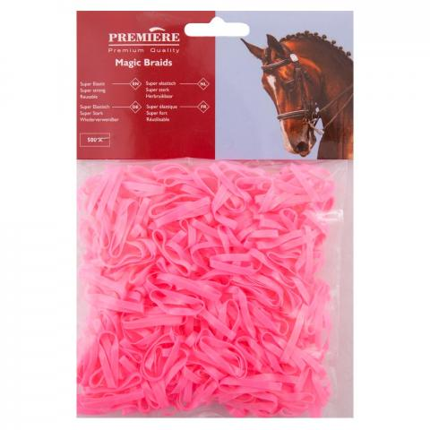 Gumki silikonowe BR różowe