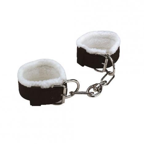 Pęta nylonowe z łańcuchem Equi Theme czarne