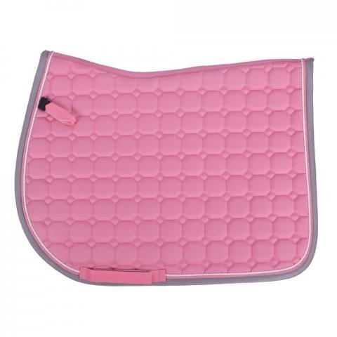 Czaprak QHP Florence Flamingo pink