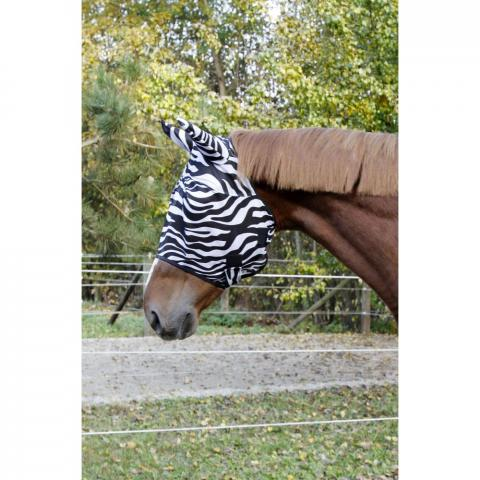 Maska siatkowa Kerbl zebra