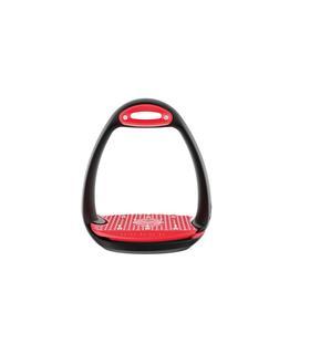 Strzemiona plastikowe Eole Pro czarno-czerwone