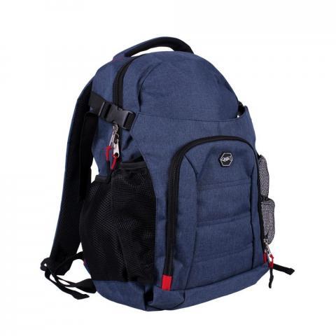 Plecak QHP jeansowy granatowy