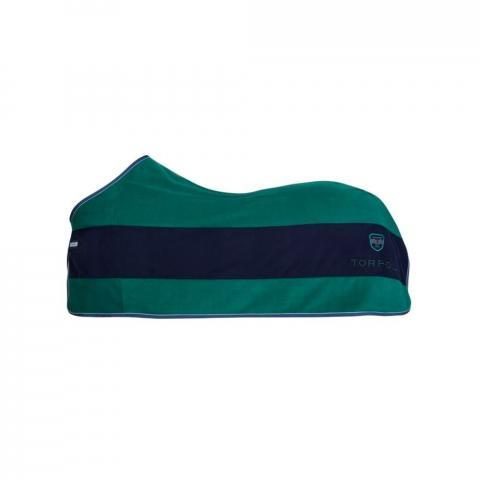 Derka Torpol polarowa Active Stripe zielono-granatowa