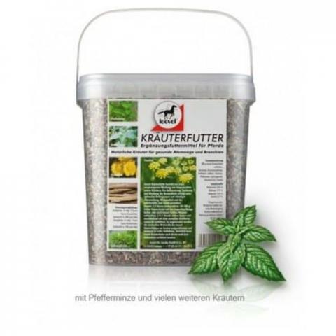 Mieszanka ziołowa wspomagająca drogi oddechowe Leovet Krauterfutter