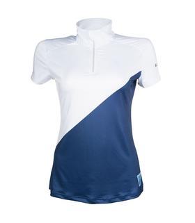 Koszulka HKM turniejowa Active 19 biało-granatowa