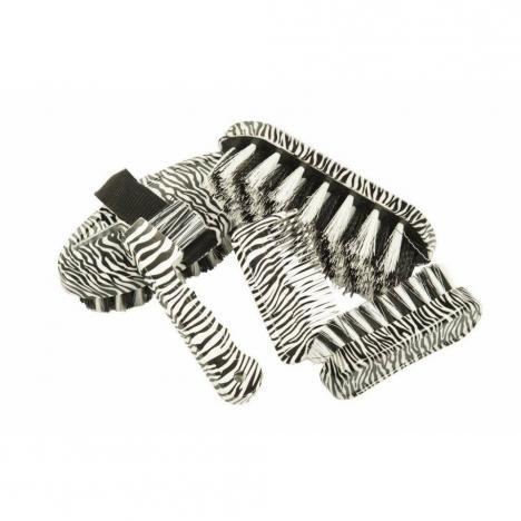 Zestaw szczotek HKM Little 5szt zebra