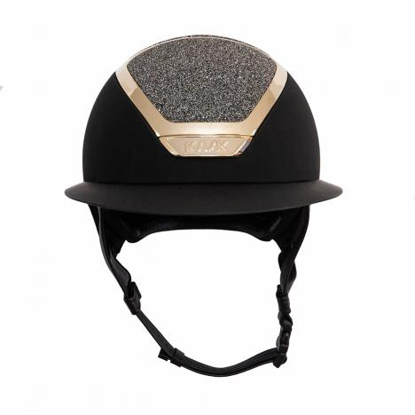Kask KASK Star Lady Swarovski Carpet Black/Gold, czarno-złoty