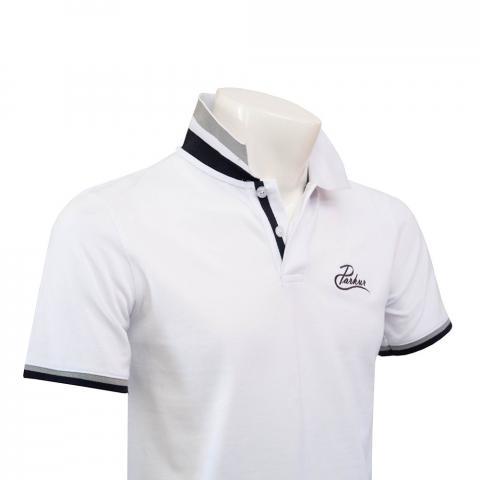 Koszulka polo męska Parkur biała
