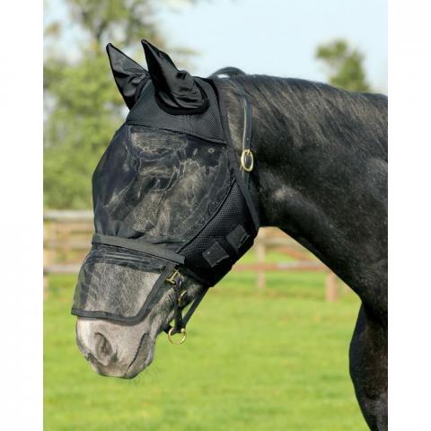 Maska na owady QHP czarna