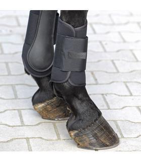 Ochraniacze neoprenowe Kavalkade Softy przód czarne