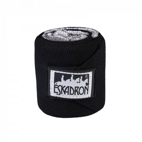 Bandaże elastyczne Eskadron Basic Climatex black, czarne