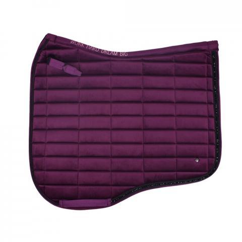 Czaprak QHP Astana Purple, śliwkowy