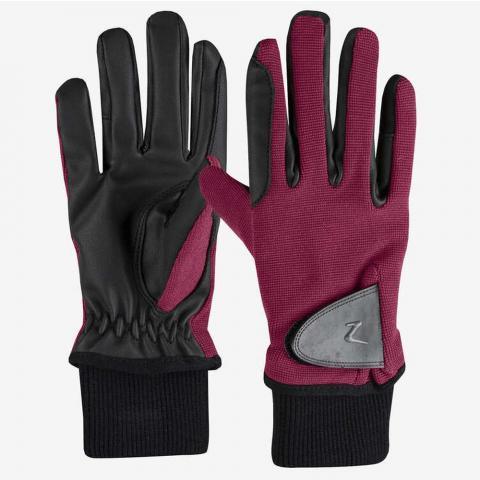 Rękawiczki dziecięce, zimowe Horze Rimma bordowe