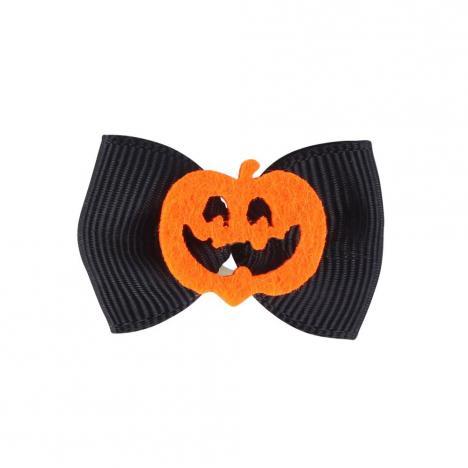 Gumki-kokardki do zaplatania koreczków QHP Halloween Pumpkin