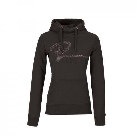 Bluza z kapturem damska Pikeur Kaat dark brown, brązowa 2020/2021