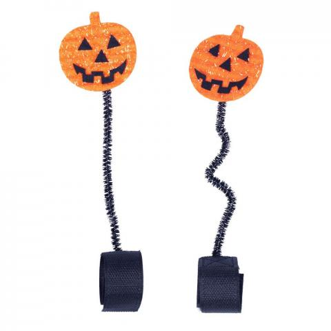 Ozdoba na ogłowie QHP Halloween Pumpkin