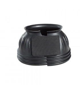 Kalosze gumowe Horze Cover czarne