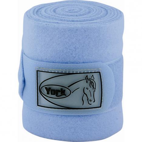 Bandaże polarowe York błękitne