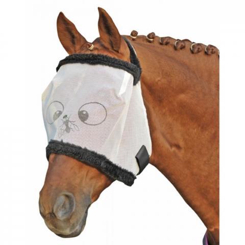 Maska przeciw owadom HKM Funny biała