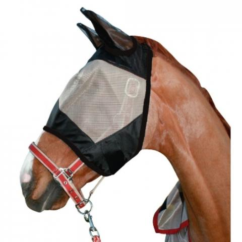 Maska przeciw owadom HKM Protection czarno-biała