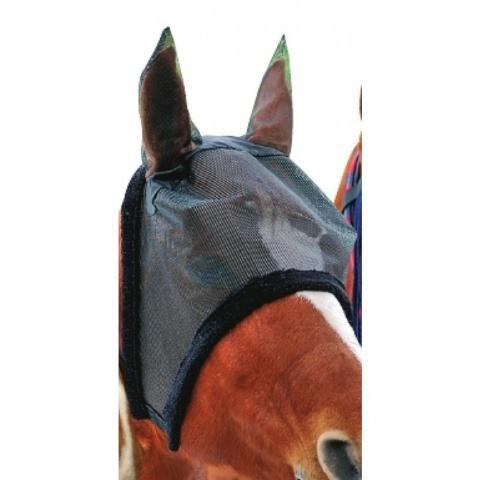 Maska przeciw owadom HKM z miękkim obszyciem czarna