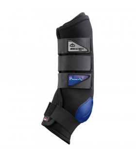 Ochraniacze Magnetic Stable Boots przód czarne