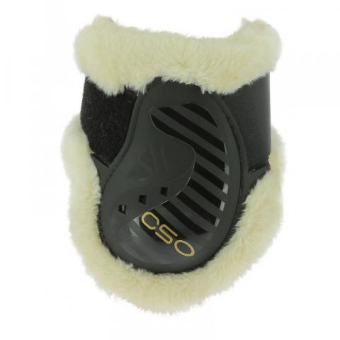Ochraniacze z futerkiem Ekkia CSO tył brązowe