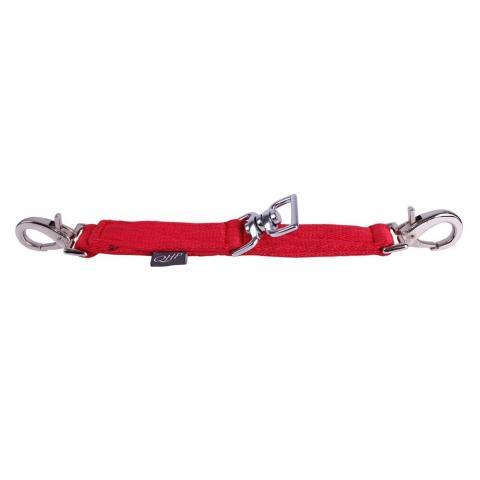 Mostek do lonżowania QHP Bright red, czerwony