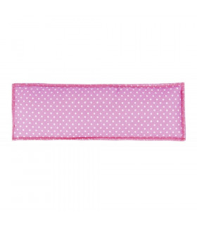 Podkładki pod nachrapnik HKM Happy różowe w kropeczki