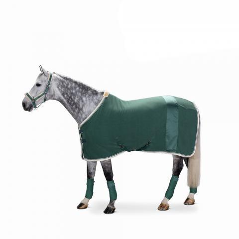 Derka polarowa Fleece Stripe Eskadron Classic Sports seapine green, zielona 2019