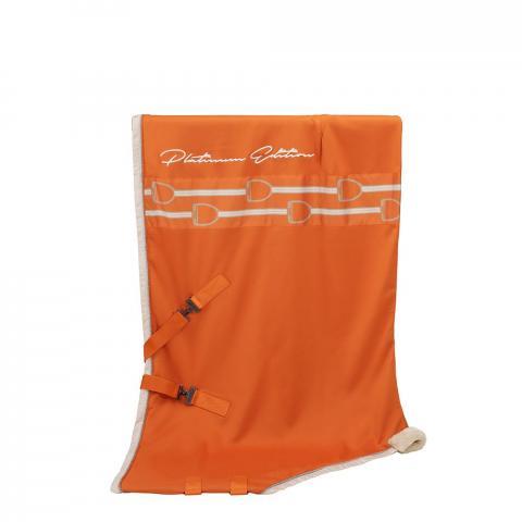 Derka osuszająca Eskadron Jersey Stripe Vermillion-orange, pomarańczowa Platinum 2019