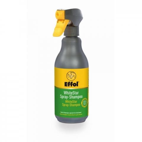 Szampon w sprayu dla siwych koni Effol White Star Spray Shampoo