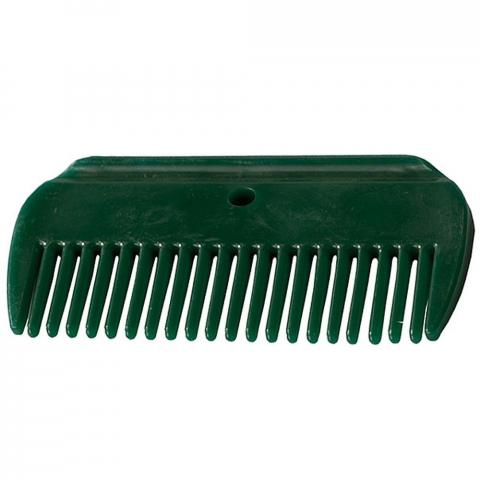Grzebień plastikowy Horze zielony