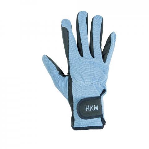Rękawiczki HKM Special dziecięce błękitne