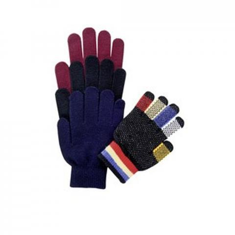 Rękawiczki Magic dziecięce bordowe
