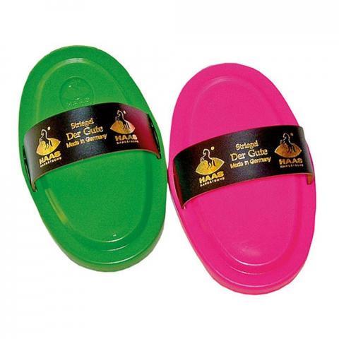 Zgrzebło Kerbl Haas plastikowe mix kolor