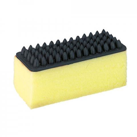 Gąbka z masażerką Kerbl prostokątna żółta