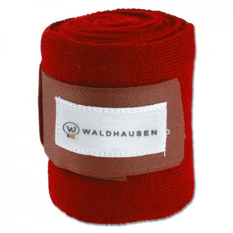 Bandaże akrylowe Waldhausen czerwone