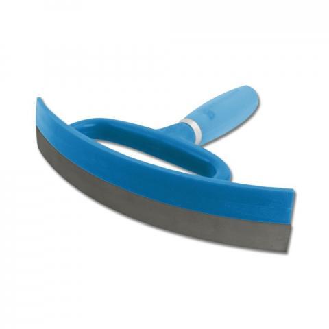 Ściągaczka do wody i potu żelowa niebieska