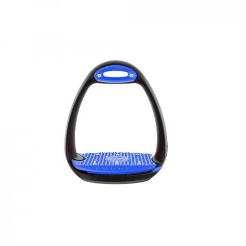 Strzemiona plastikowe Eole Pro czarno-niebieskie