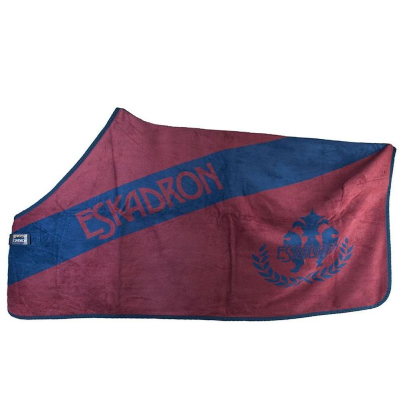 Derka polarowa Eskadron dralon diagonal burgundy-navy, bordo-granat AW2011