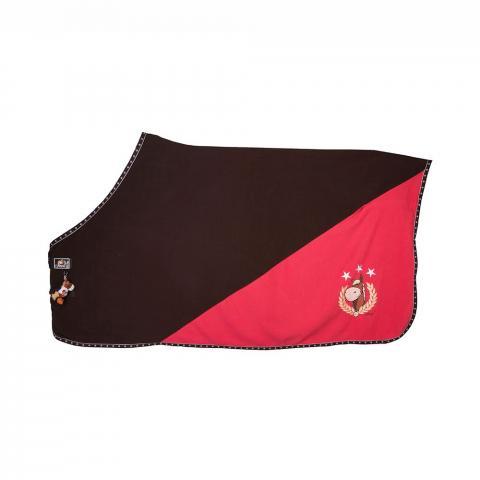 Derka polarowa Eskadron Nici Striped brown-fuchsia, malina-brąz gwiazdy AW2012