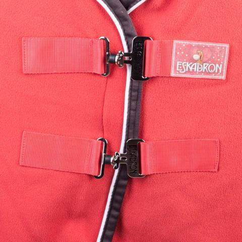 Derka polarowa Eskadron Nici Bicolor red-brownie, czerwona 2015