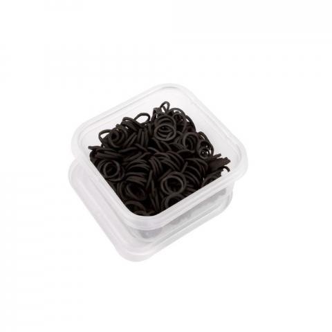 Gumki do grzywy HKM w pudełku czarne