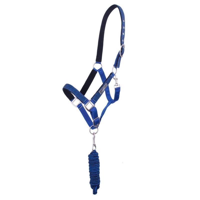 Kantar z uwiązem QHP Graphic niebieski