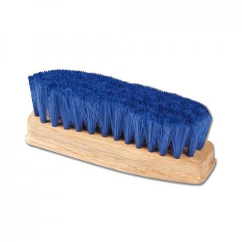 Szczotka HW do kopyt mała z niebieskim włosem