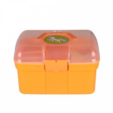 Skrzynka z akcesoriami QHP pomarańczowa