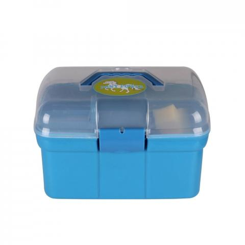 Skrzynka z akcesoriami QHP niebieska