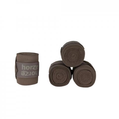 Bandaże polarowo-elastyczne Horze Nest czekoladowe
